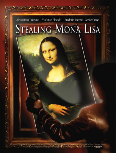 Stealing Mona Lisa poster