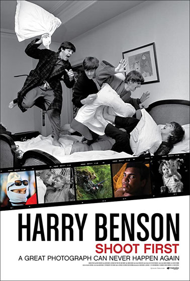Harry Benson Shoot First poster